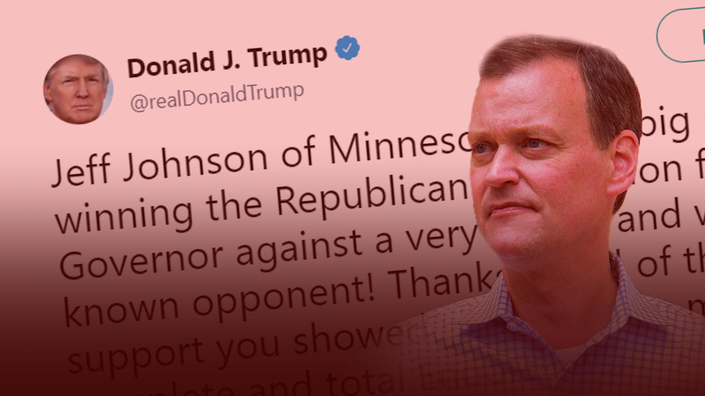 Trump Tweet, Jeff Johnson.